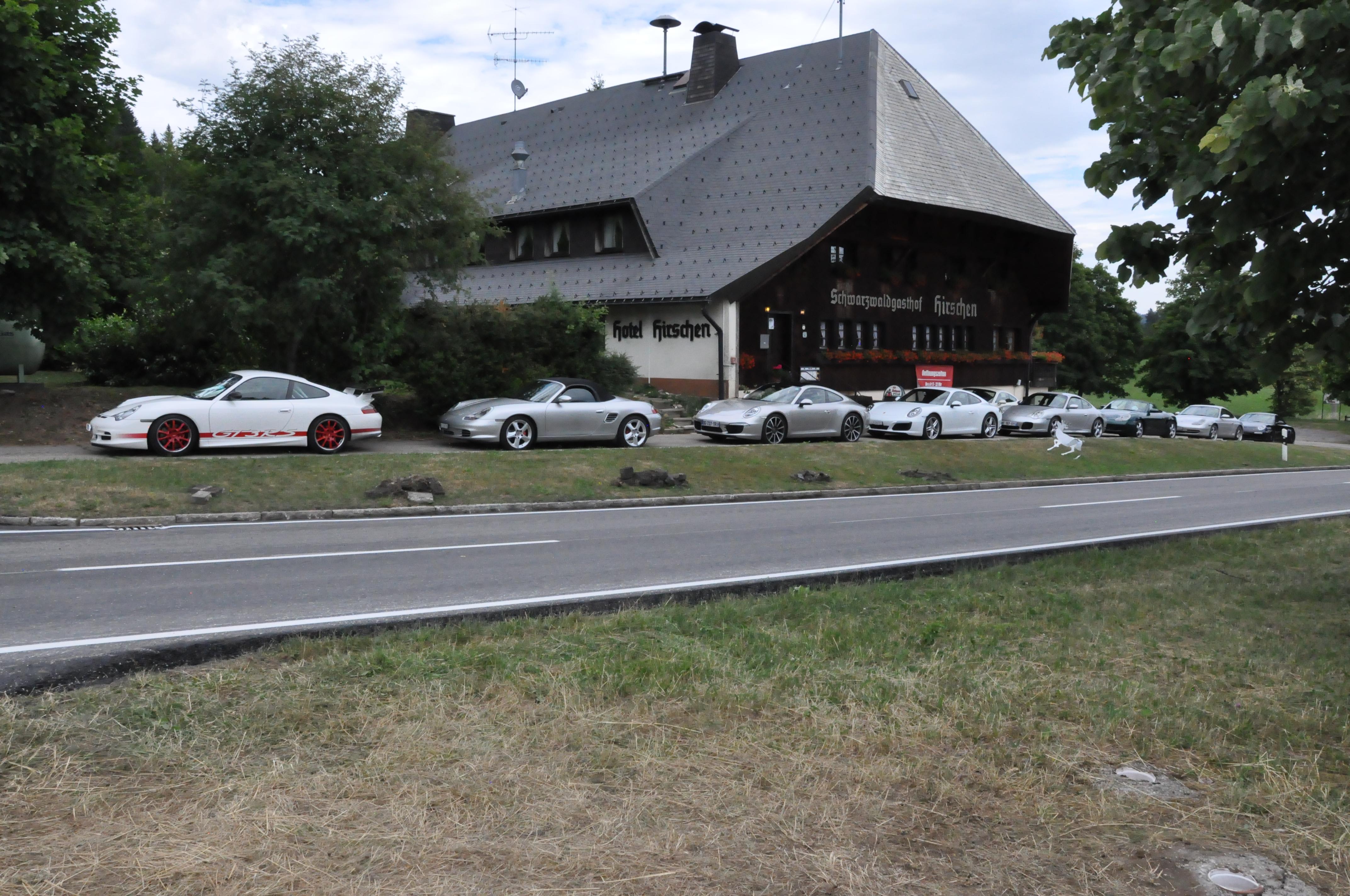 Hirschen Porscheevent