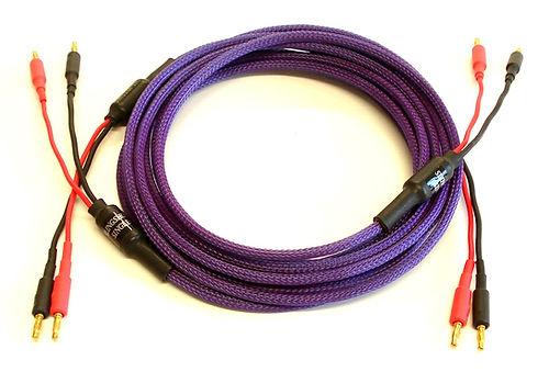Missing Link Slingshot Single Helix Loudspeaker Cable, High end audio cables