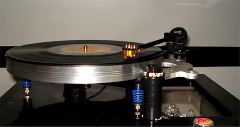 Vinyl Passion Krown Platter, LP-12 Platter upgrade, Vinyl passion Research,
