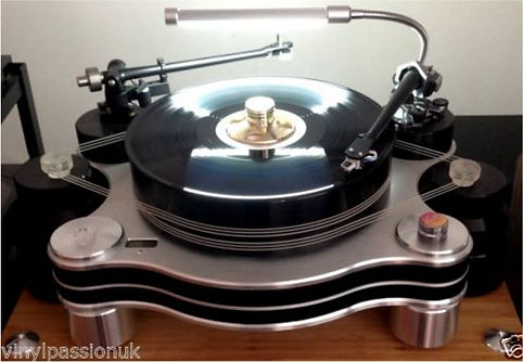 Turntable Lamp, Vinyl Passion
