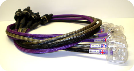 Missing Link, Orbit Power Cable, Silver mains Plugs, high quality audio cable