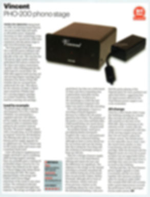 Vincent PHO-200 Review, Vincent audio, High quality phono stage, best buy phono stage, vinyl passion, best value phono stage