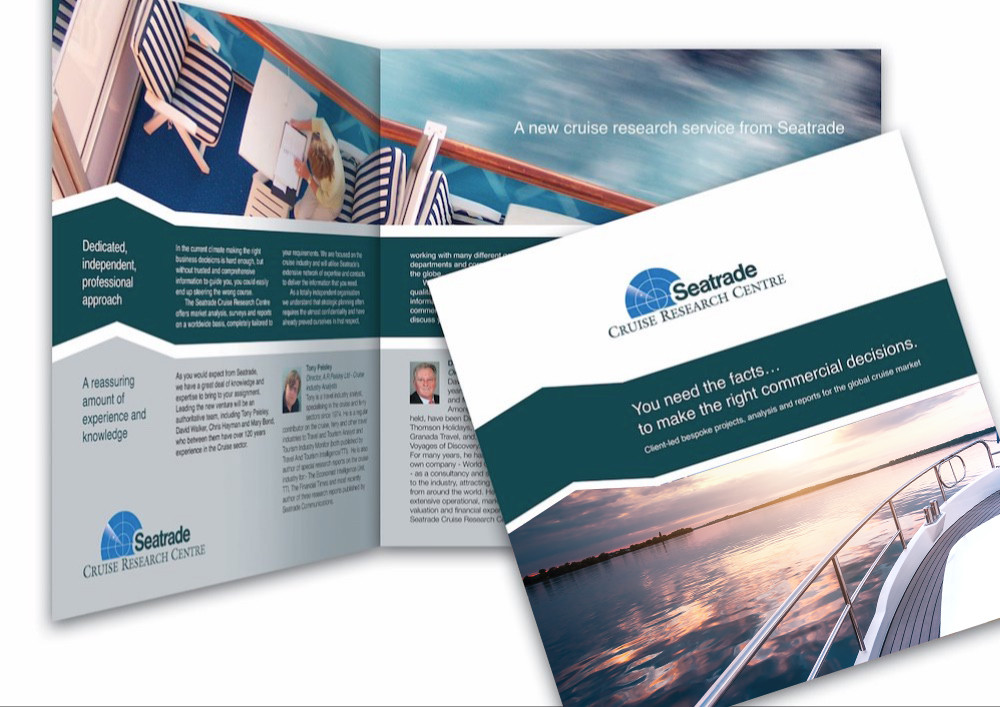 Seatrade Research Centre: brochure outlining the research services compiled by Seatrade over their extensive history in Publications and with world-wide journalists and editors.