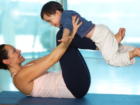 Workout with Kids