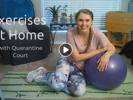 Core Strengthening exercises by Primacare Physical Therapy