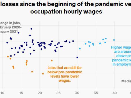 各産業によって異なる雇用状況