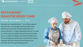 Restaurant Disaster Relief Fund