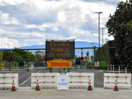 CA州の遊園地は4月1日から再開可能