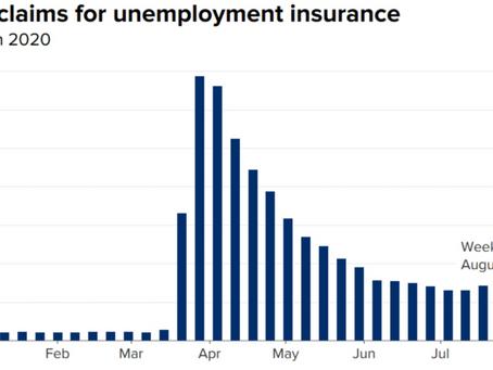 失業保険申請者数とStimulus Check