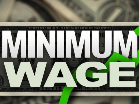 7月1日から最低賃金が上昇する場所