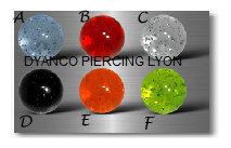 Boules  acryliques 4726