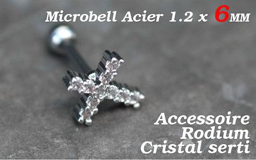 Piercing cartilage croix