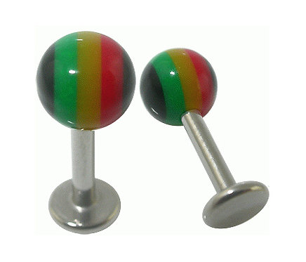 Labret rayures couleurs BGG