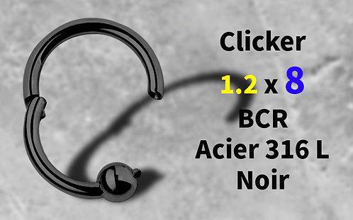 Anneau BCR clicker black