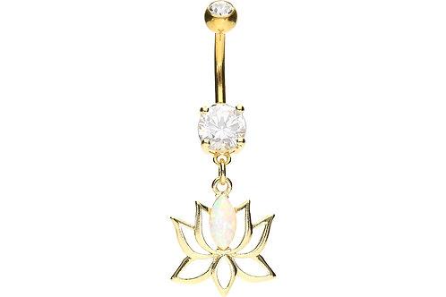 Nombril luxe fleur de lotus