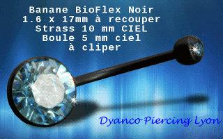 Nombril de grossesse bioflex ciel