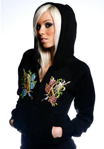 Sweatshirt Toxico femme GZH Colour Coffins
