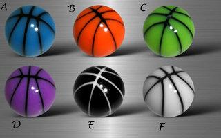 Boules  acryliques basket