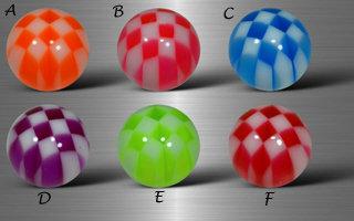 Boules  acryliques