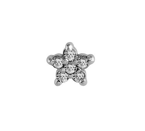 Micro implant fleur diamant
