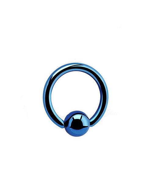 BCR acier anodisé bleu