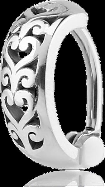 Vente piercing nombril anneau cœur