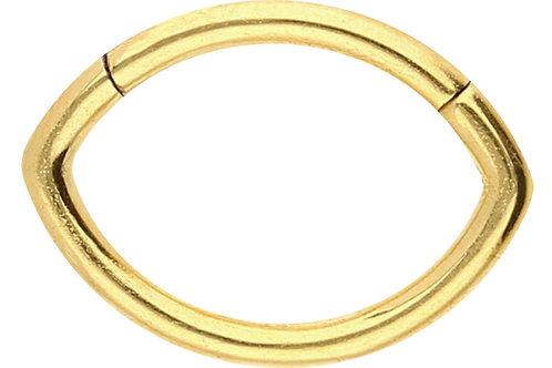 Anneau septum et hélix Gold