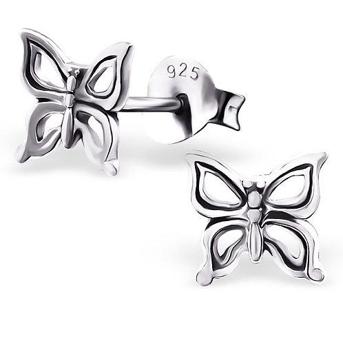 Clou d oreille papillon