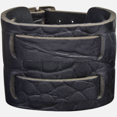 Bracelet cuir black rock