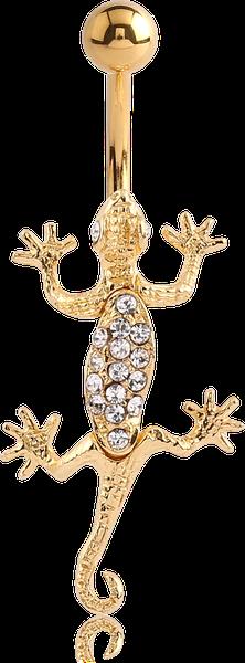 Nombril Salamandre gold