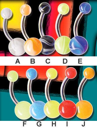 Nombril acrylique 07