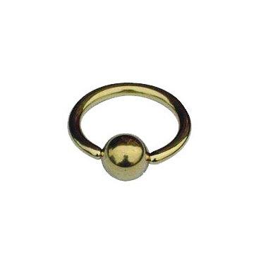 Piercing arcade titane anneau