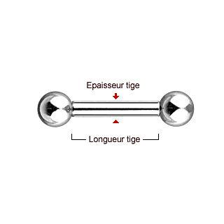 Mesurer la taille de son piercing langue ou piercing industriel