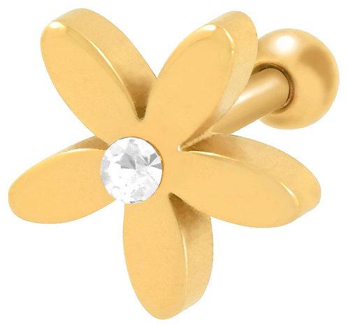 Tragus fleur Gold