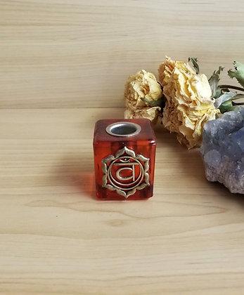 Chakra Candle Holder Orange