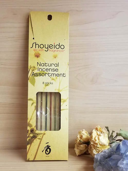 Shoyeido- Natural Incense Assortment