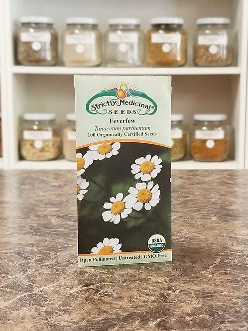 Strictly Medicinal Seeds- Feverfew