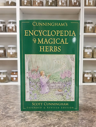Cunningham's Encyclopedia of Magical Herbs- Cunningham