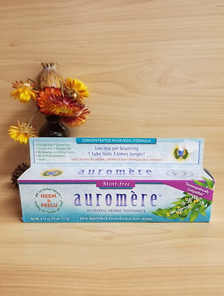 Auromere- Mint Free Toothpaste