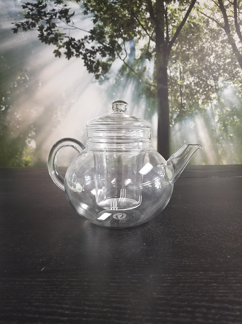 Tea Pot Glass 32 Ounce