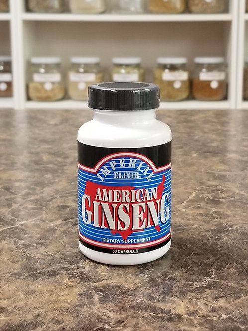 American Ginseng Pwd Capsules