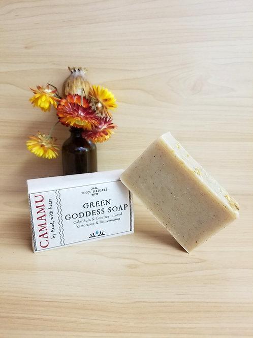 Camamu- Green Goddess Soap