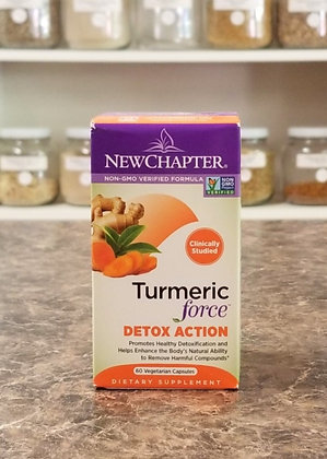 New Chapter- Turmeric Force Detox Action
