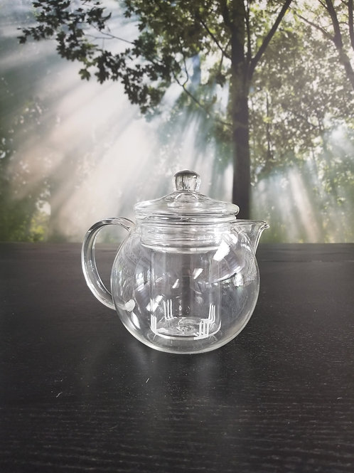 Tea Pot Glass 17 Ounce