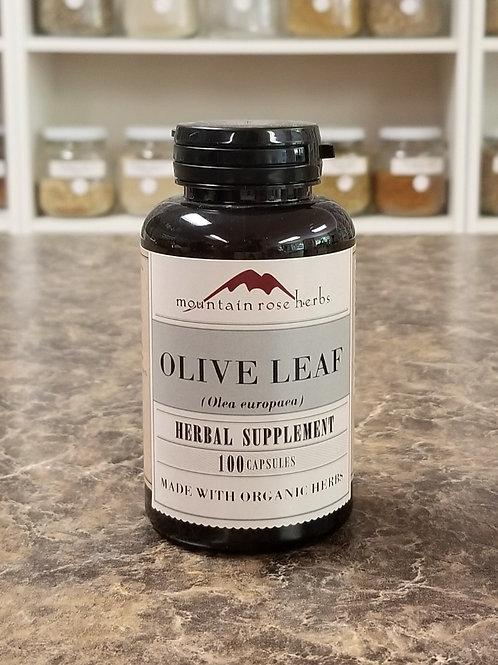 Olive Leaf Pwd Capsules