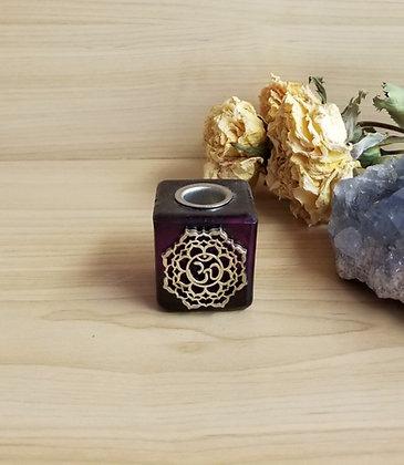 Chakra Candle Holder Purple