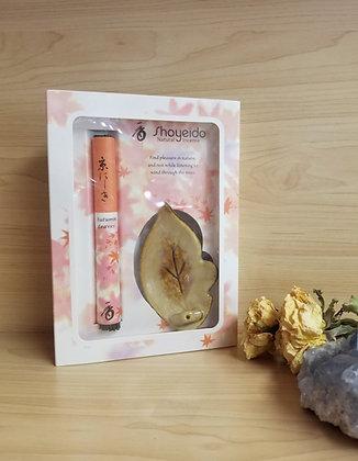 Shoyeido- Autumn Leaves Gift Set