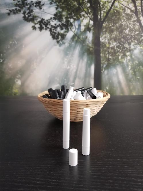 White Slim Chapstick Container