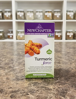 New Chapter- Turmeric Force 120