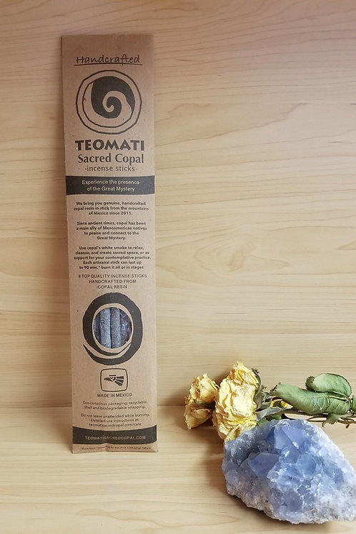 Teomati- Sacred Copal Incense Pack